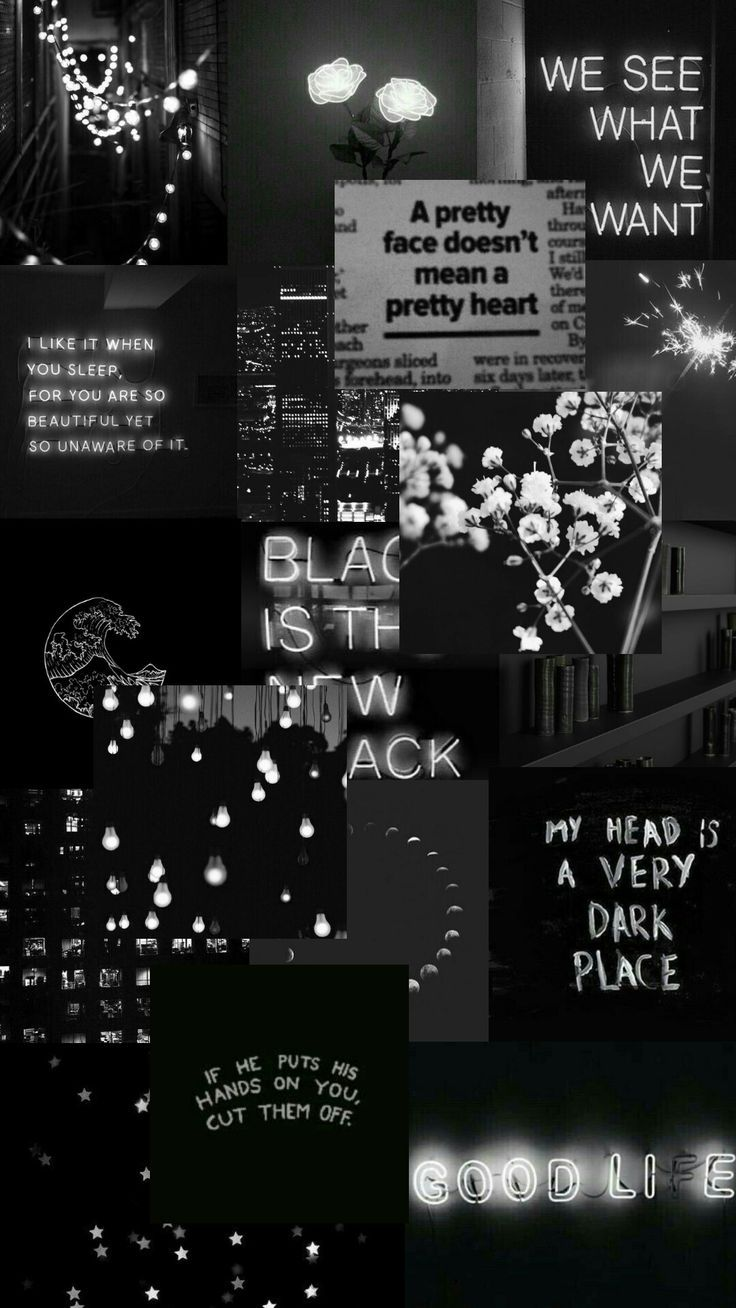 Aesthetic Text Black Wallpapers Top Free Aesthetic Text Black