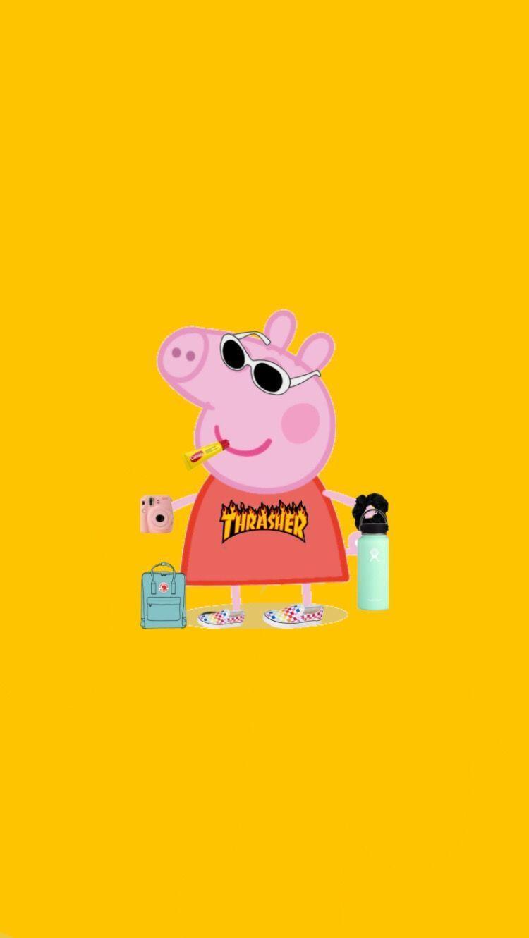 Peppa Pig Vsco Wallpapers Top Free Peppa Pig Vsco Backgrounds