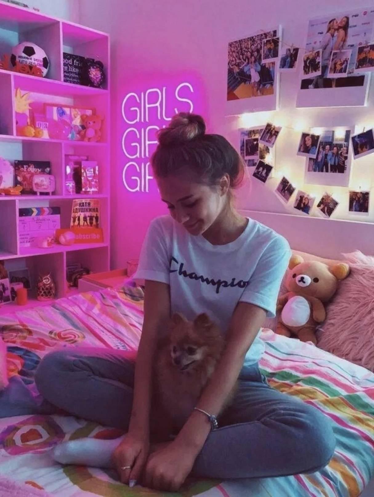 1215x1613 VSCO Phòng ngủ Ý tưởng cho Cô gái VSCO - Giấc mơ màu hồng