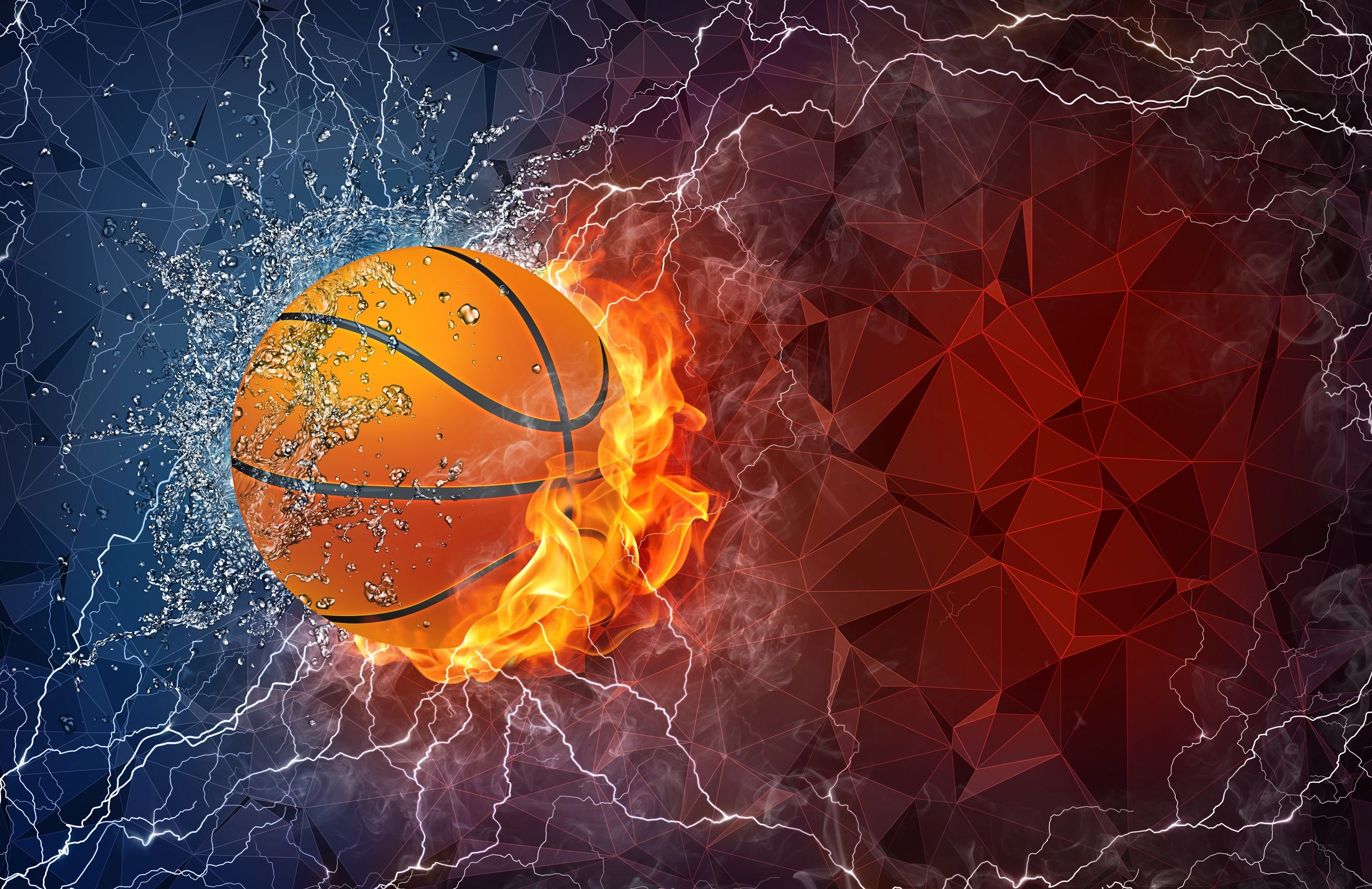 Galaxy Basketball Wallpaper