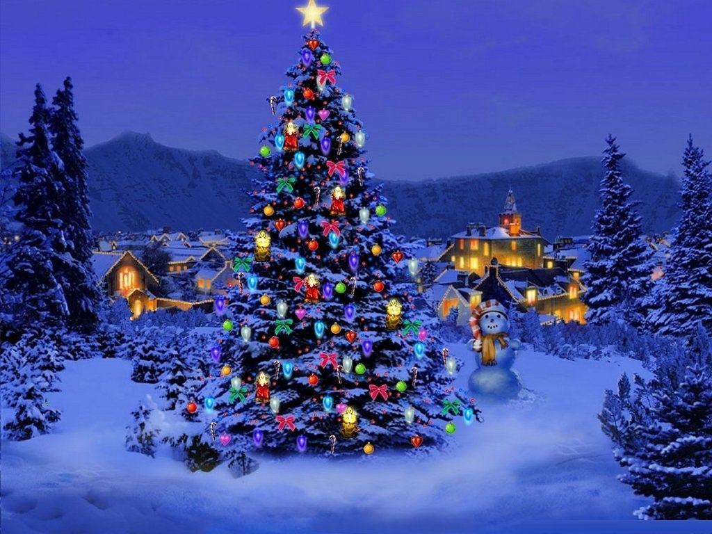1024x768 Christmas Pc Wallpaper Free - Top Background & Wallpaper