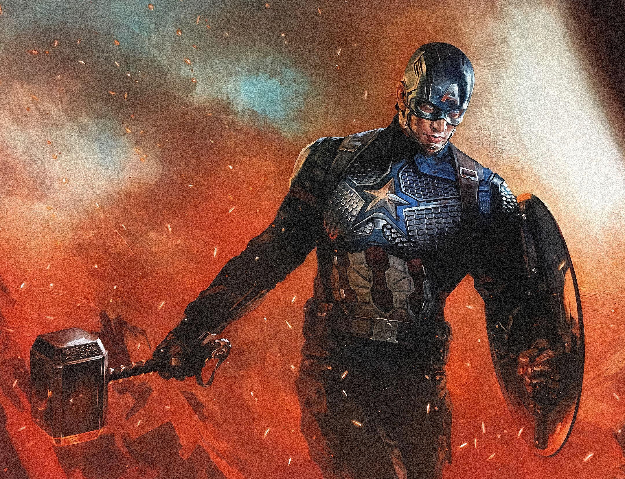 Captain America Endgame Wallpapers Top Free Captain America