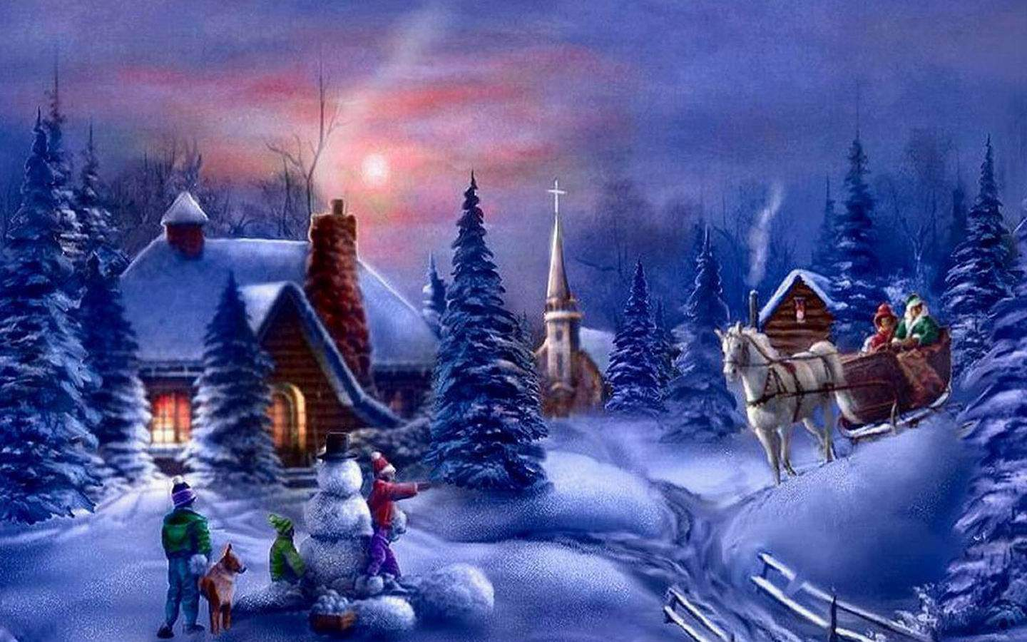 Christmas Pc Wallpapers Top Free Christmas Pc Backgrounds