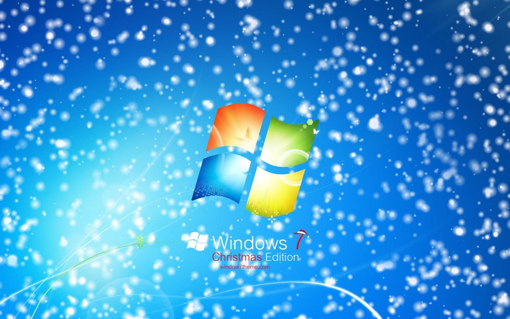 Hình nền máy tính và Mac 1680x1050 Windows 7 Christmas cho PC và Mac