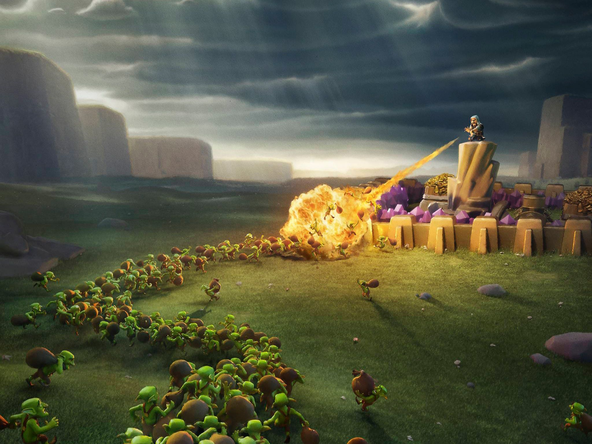 Clash Of Clans Wallpapers Top Free Clash Of Clans Backgrounds