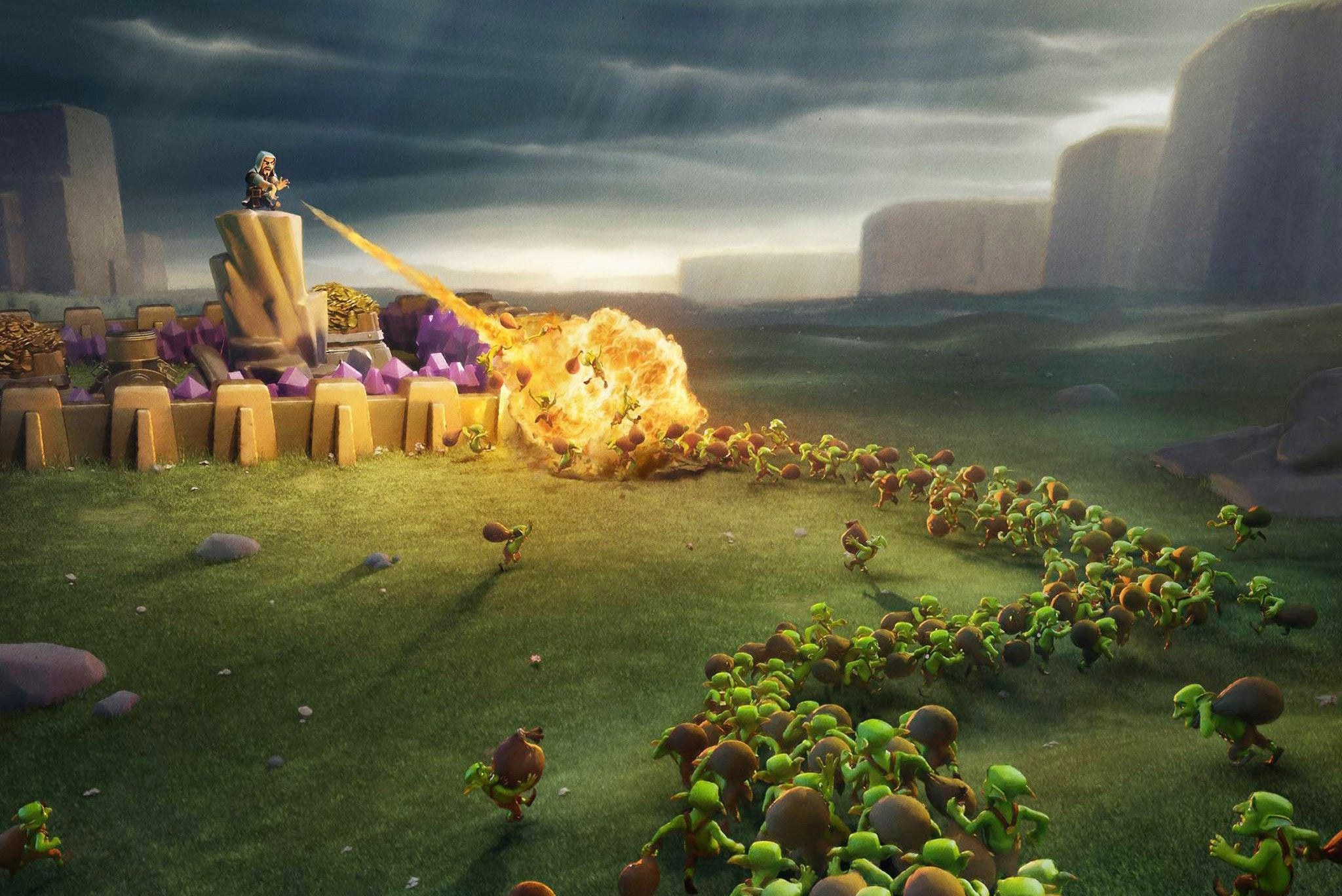 Clash Clans Hd Wallpaper For Pc – Ardusat
