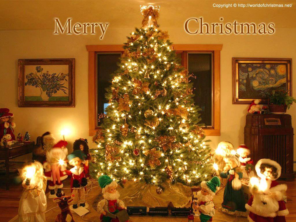 Hình nền Pc Giáng sinh miễn phí 1024x768
