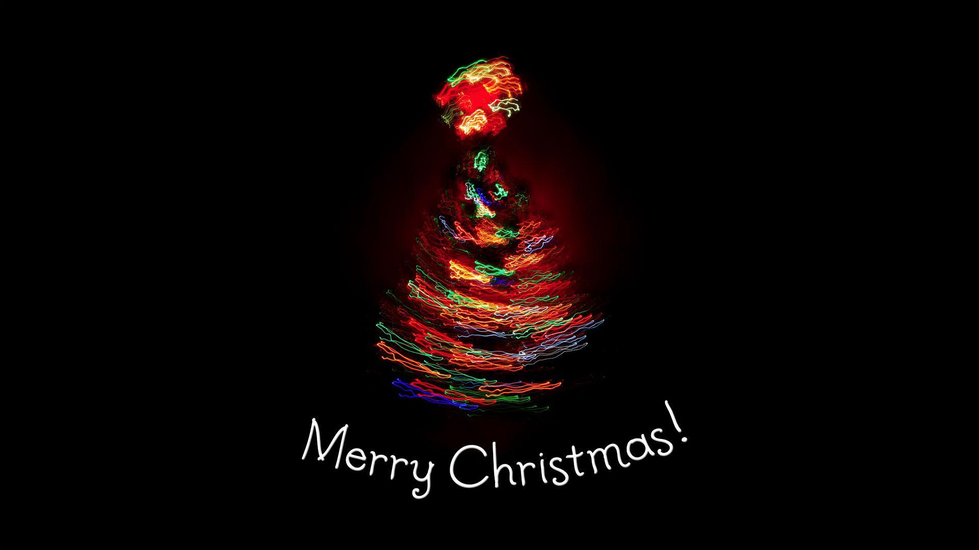 1920x1080 Light Tree Merry Christmas Wallpaper Hình nền PC.  Cao