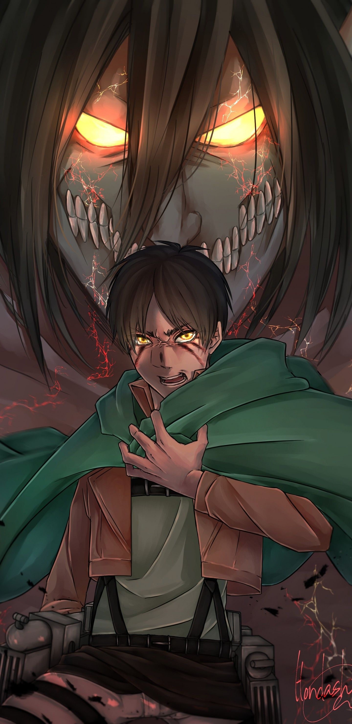 Attack On Titan Eren Wallpapers Top Free Attack On Titan Eren Backgrounds Wallpaperaccess