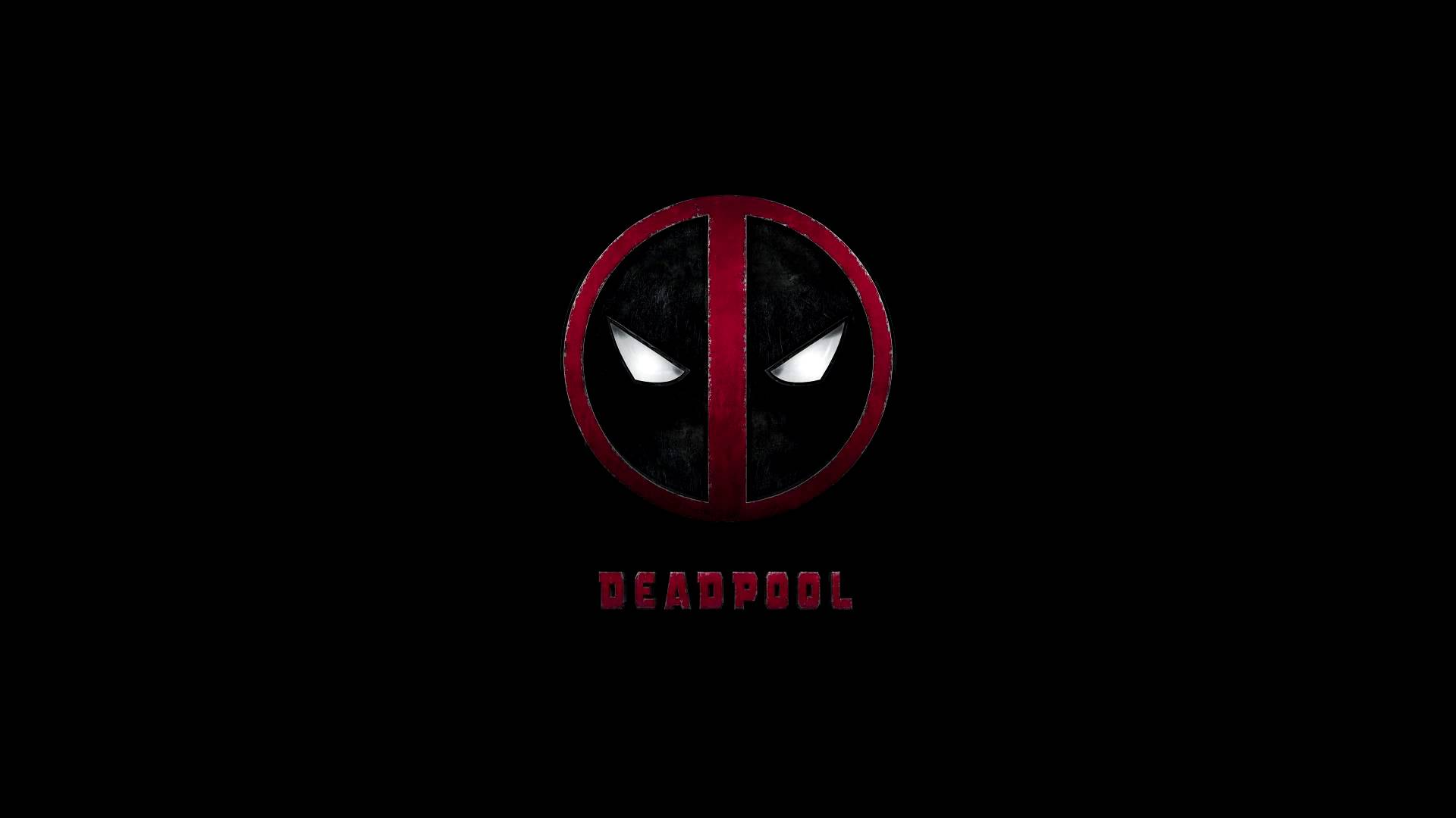 Deadpool Logo Wallpaper Phone