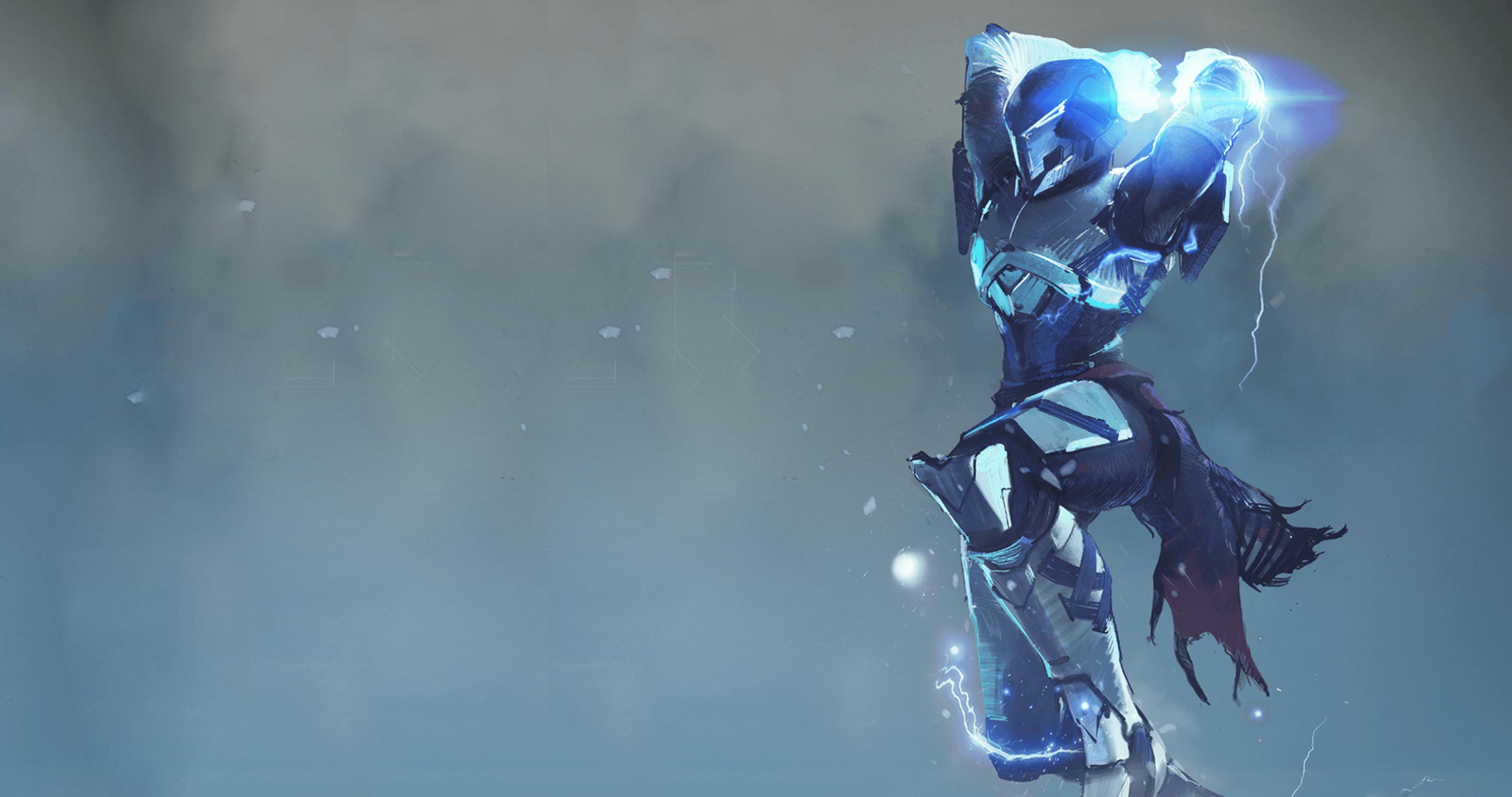 Warlock Stormcaller Destiny 4K Wallpapers