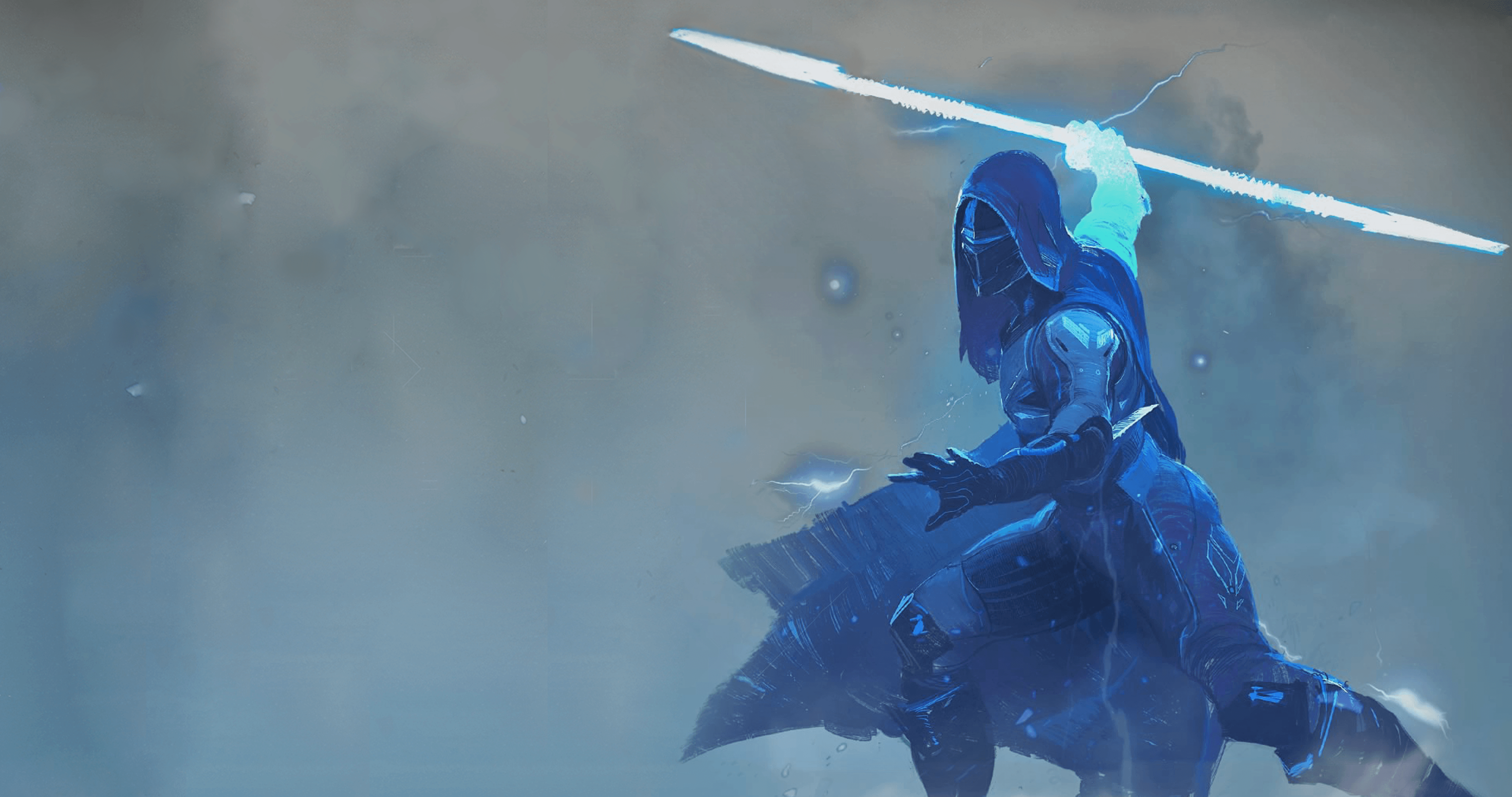 Destiny 2 Desktop Wallpaper: Warlock Stormcaller Destiny 4K Wallpapers