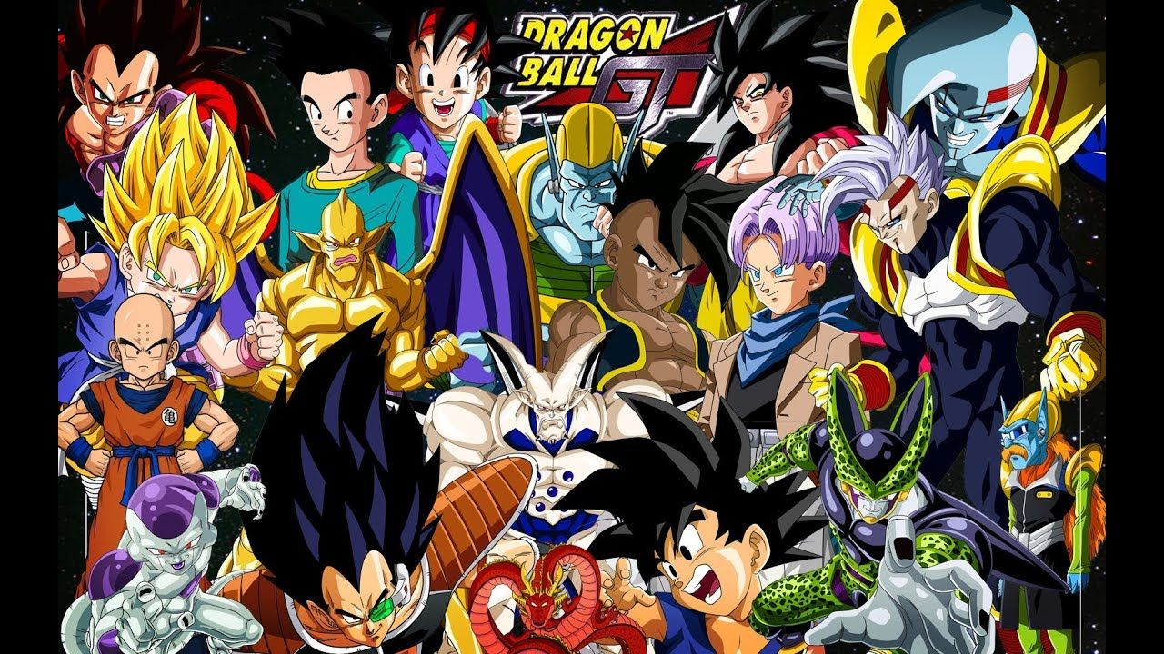 Dragon Ball Gt Wallpapers Top Free Dragon Ball Gt Backgrounds Wallpaperaccess