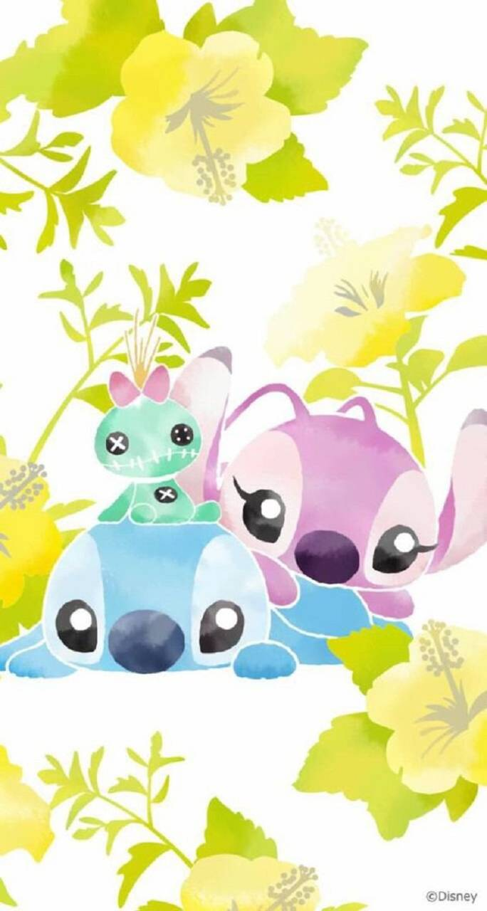 Stitch And Angel Wallpapers Top Free Stitch And Angel Backgrounds Wallpaperaccess