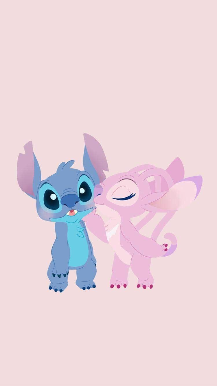 Angel And Stitch Wallpapers Top Free Angel And Stitch Backgrounds Wallpaperaccess