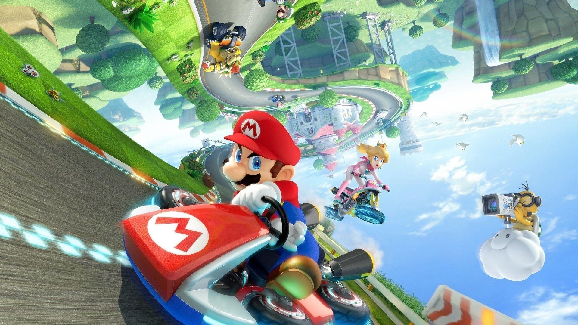 Mario Kart Wallpapers Top Free Mario Kart Backgrounds Wallpaperaccess