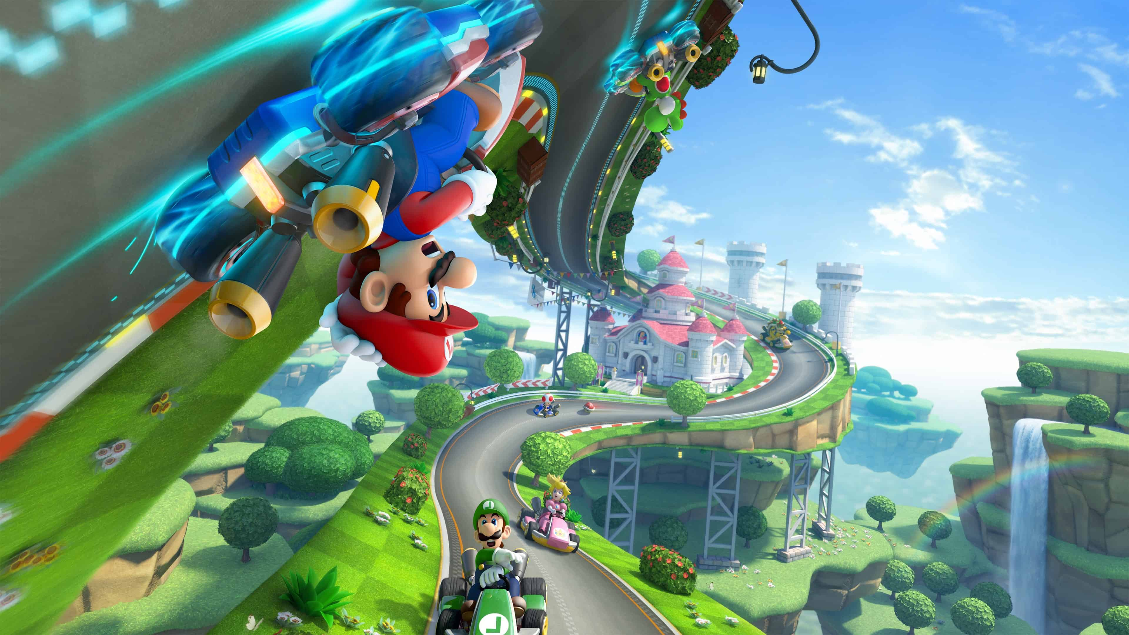 Mario Kart Wallpapers Top Free Mario Kart Backgrounds