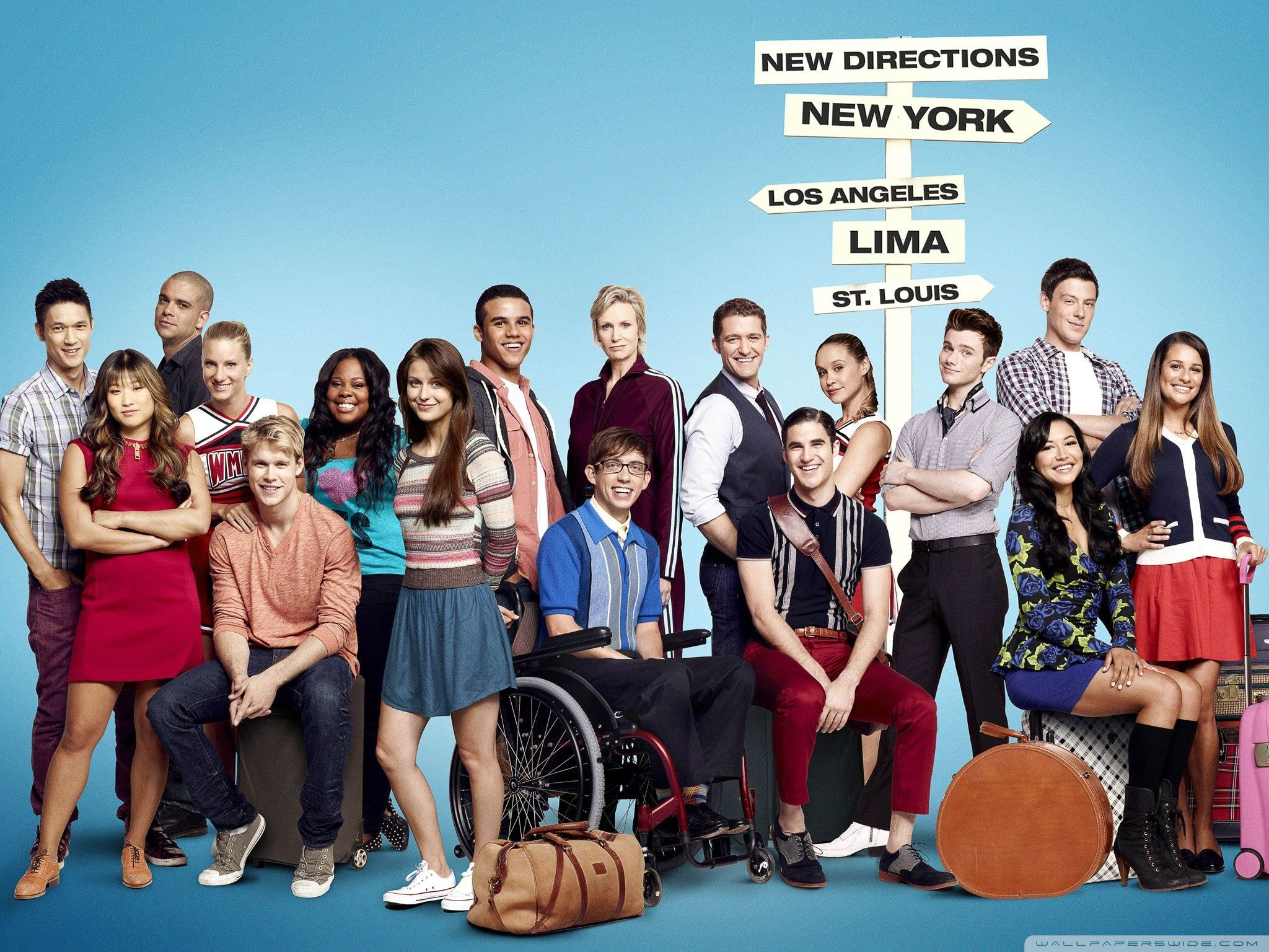 Glee Wallpapers Top Free Glee Backgrounds Wallpaperaccess