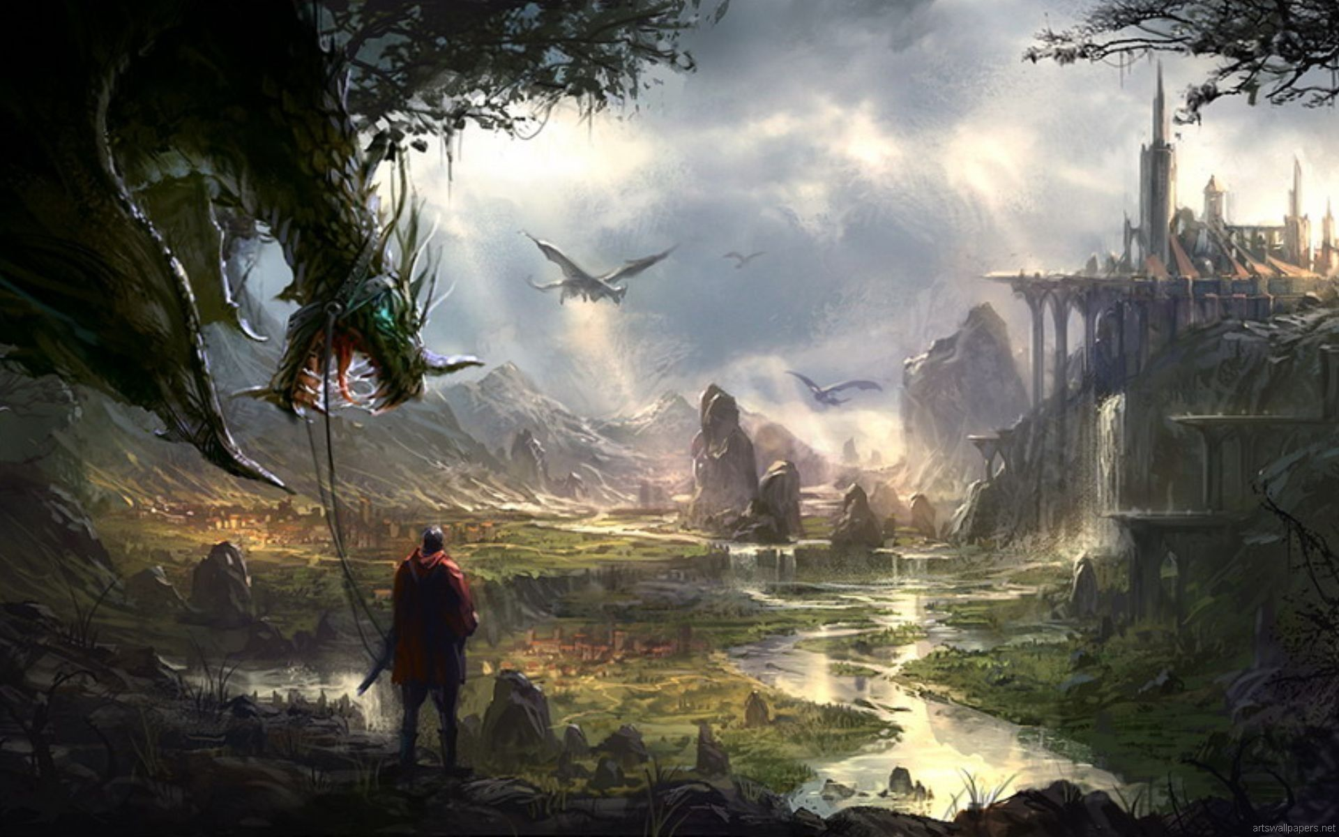 Fantasy Wallpapers Top Free Fantasy Backgrounds