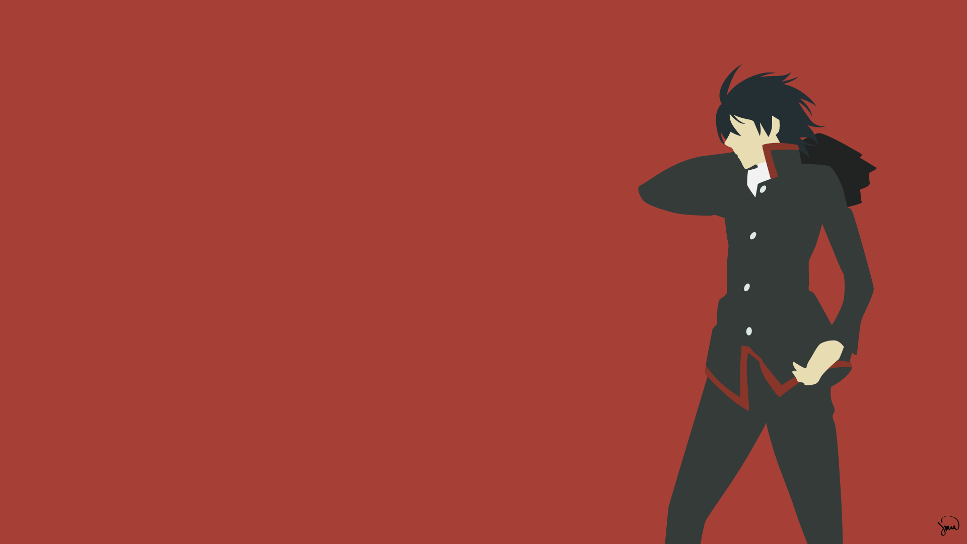 Minimalist Anime Wallpapers Top Free Minimalist Anime Backgrounds Wallpaperaccess