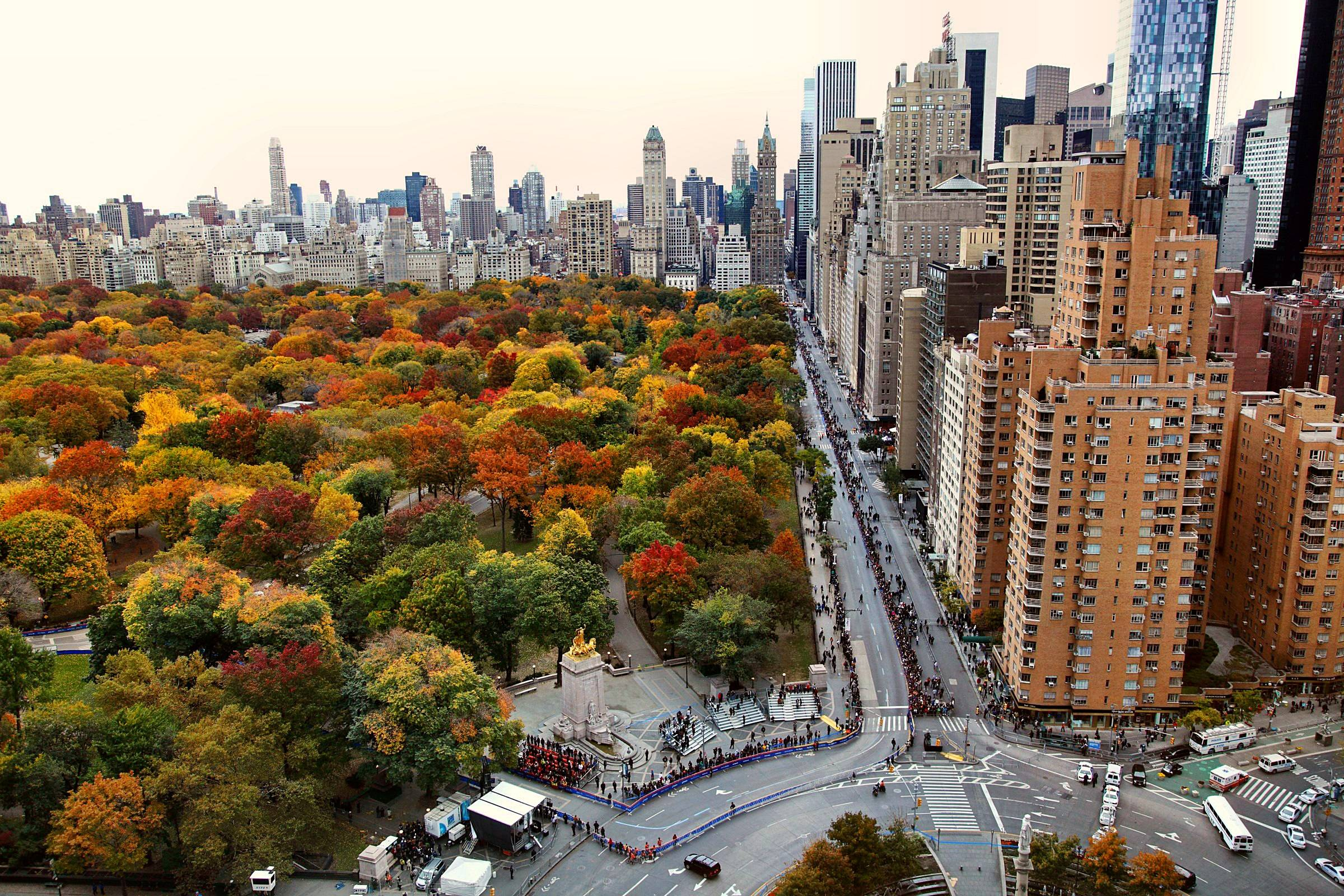 Nyc Fall Wallpapers Top Free Nyc Fall Backgrounds Wallpaperaccess