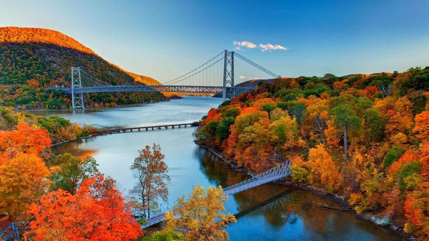 New York Fall Wallpapers Top Free New York Fall Backgrounds