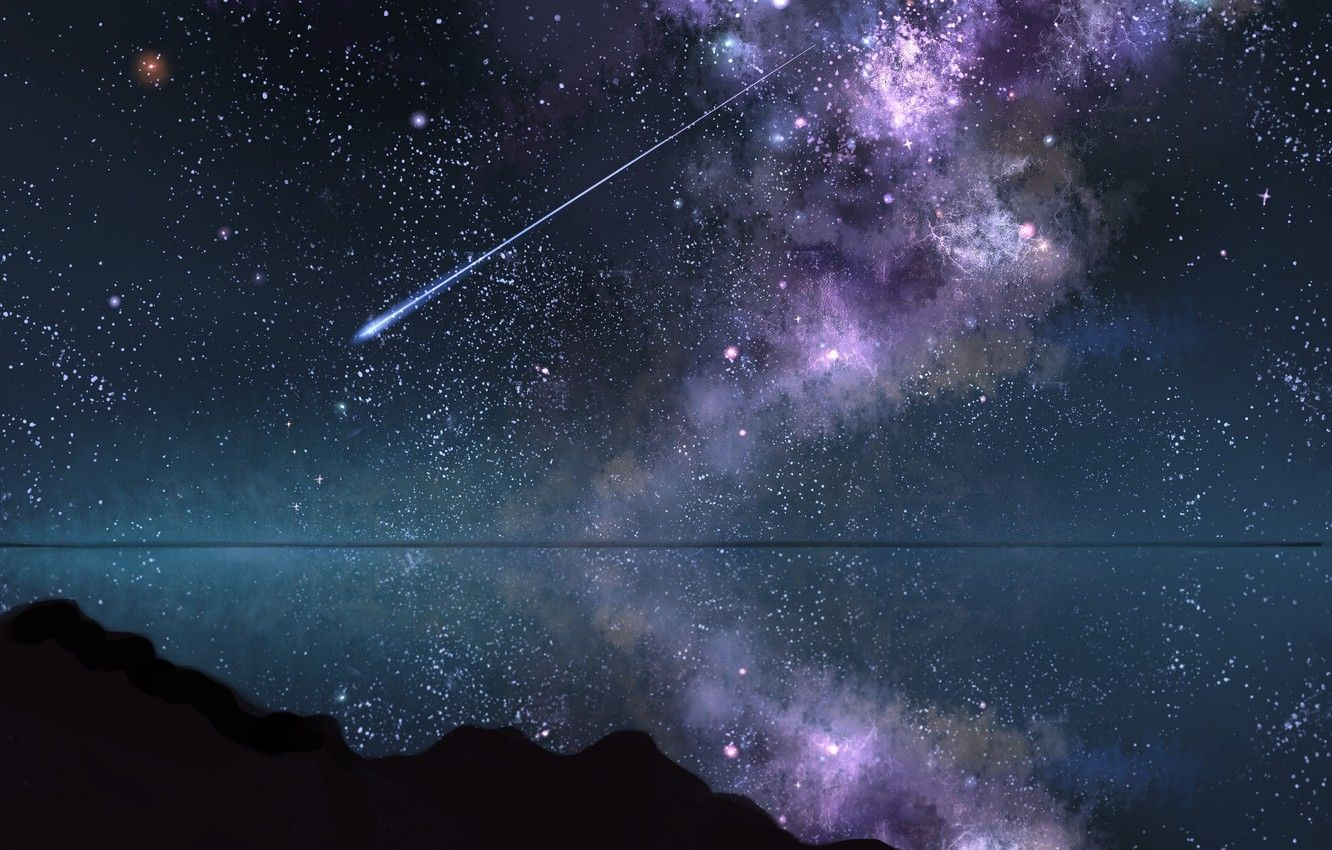 Image result for shooting stars abstract