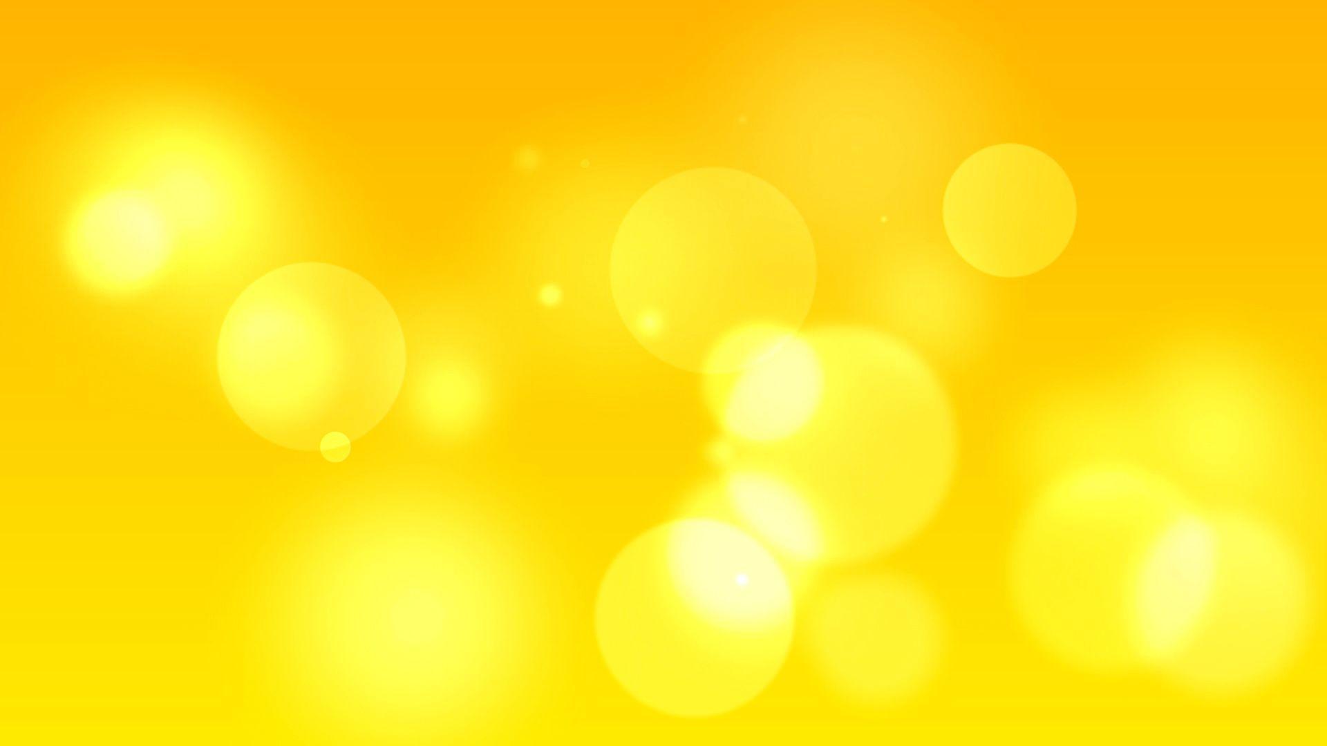 1920x1080 Đơn giản Màu vàng Trừu tượng # Giấy báo