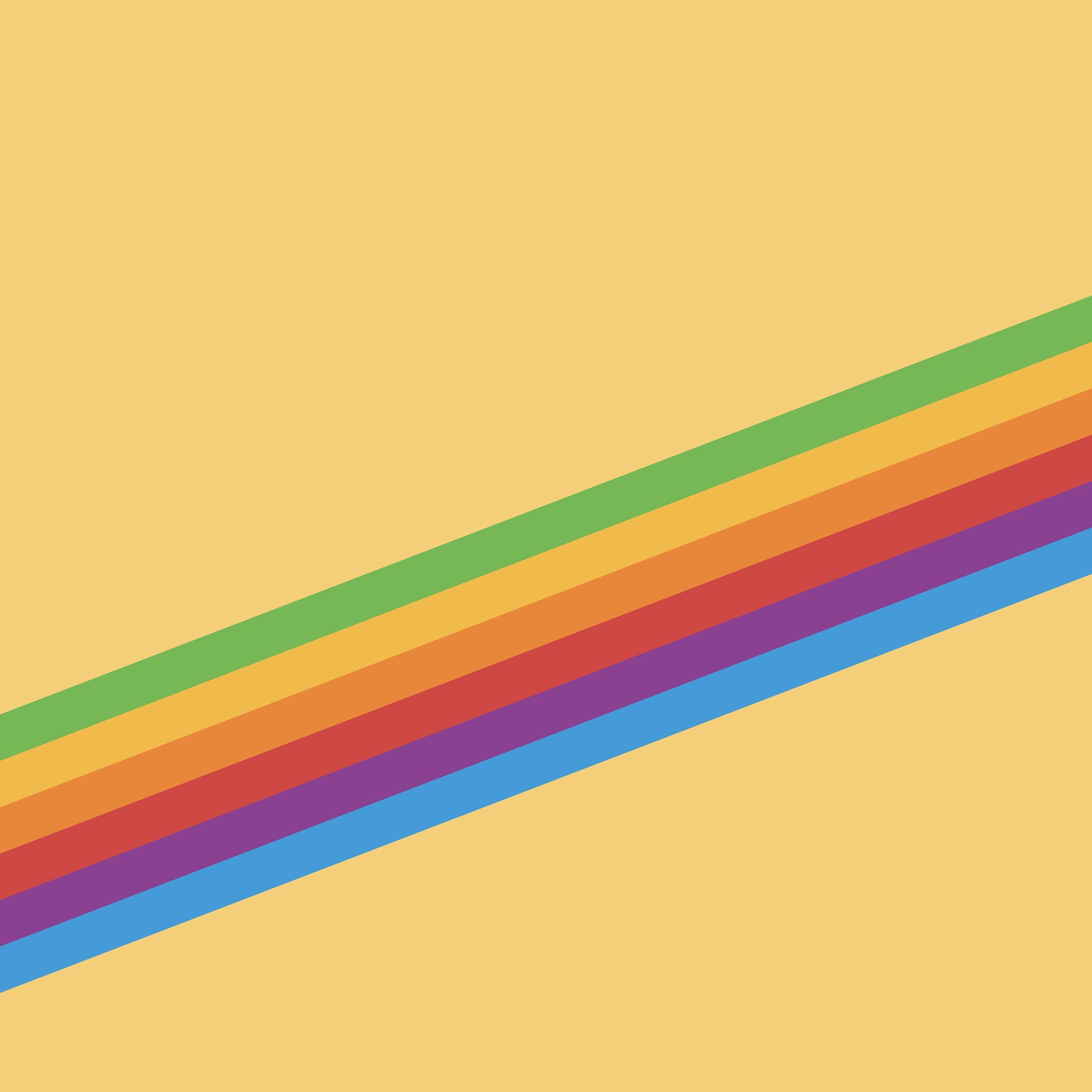 Hình nền Android 2706x2706 Heritage Stripe Yellow - Hình nền Android HD