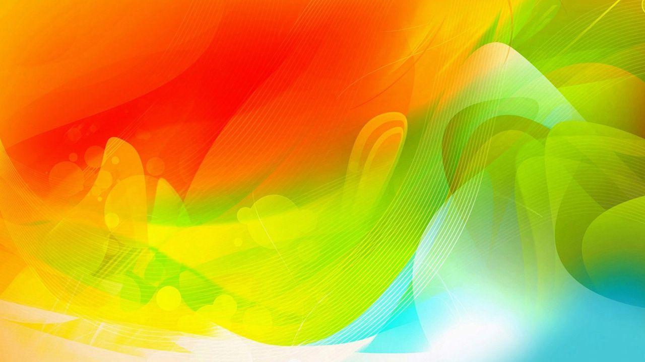 Hình nền trừu tượng 1280x720 màu vàng