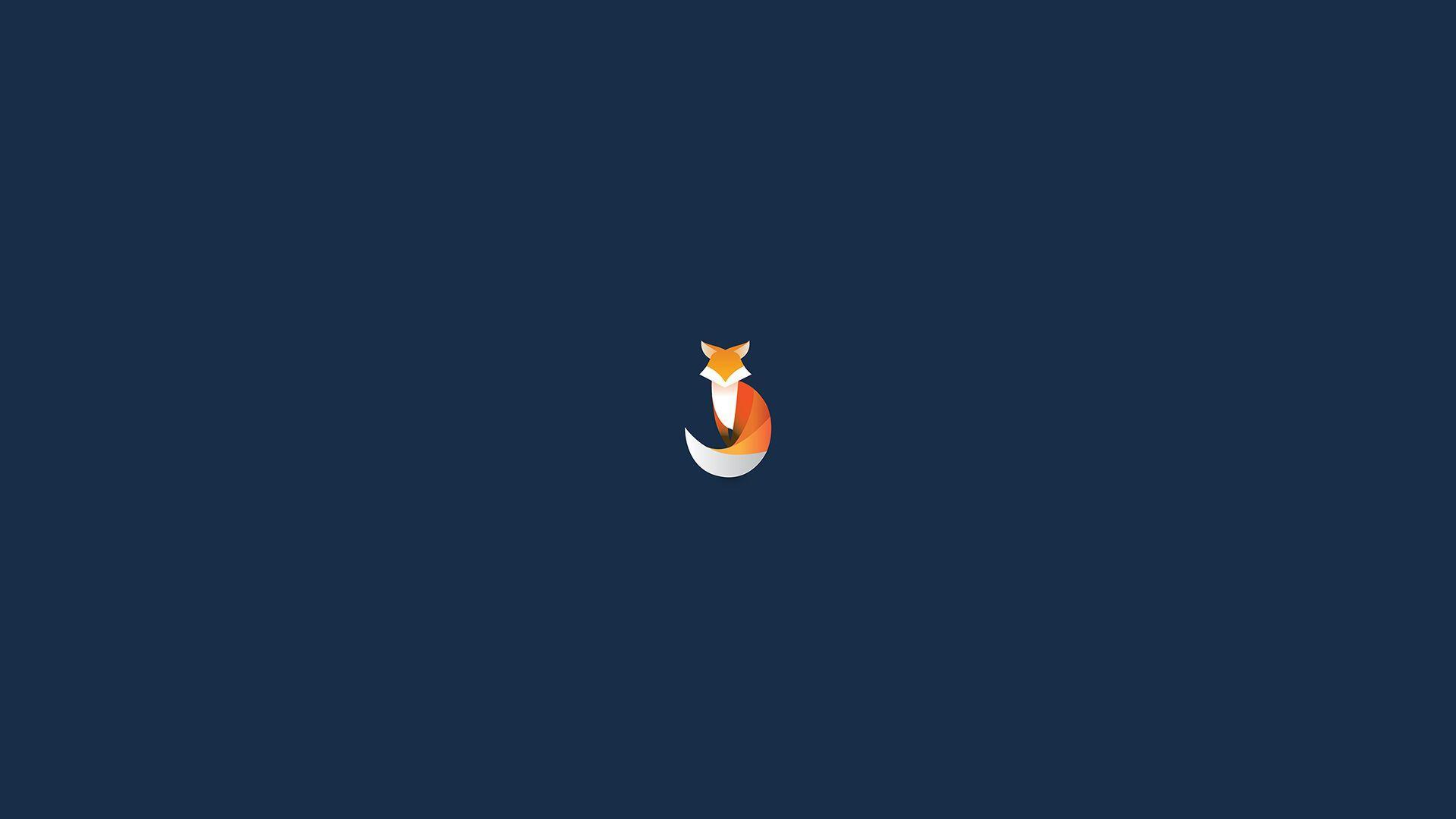 Minimalist Fox Wallpapers Top Free Minimalist Fox