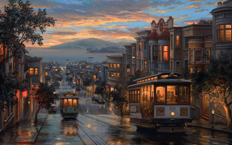 Rainy City at Night Wallpapers - Top Free Rainy City at ...