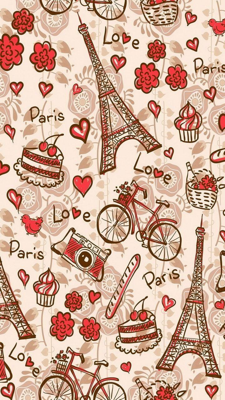 Gambar Wallpaper Kartun Paris
