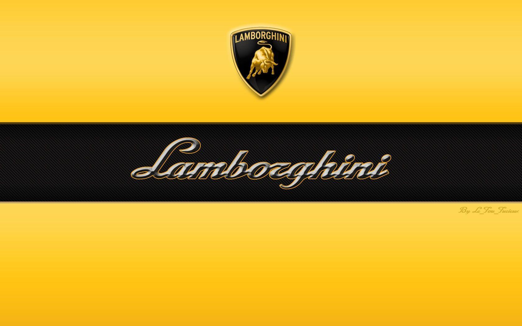 1600x900 Lamborghini Logo 3D Wallpaper