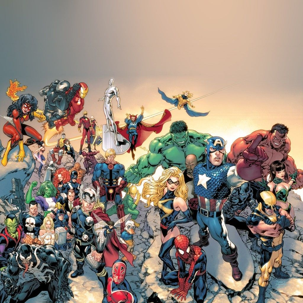 Marvel Ipad Wallpapers Top Free Marvel Ipad Backgrounds