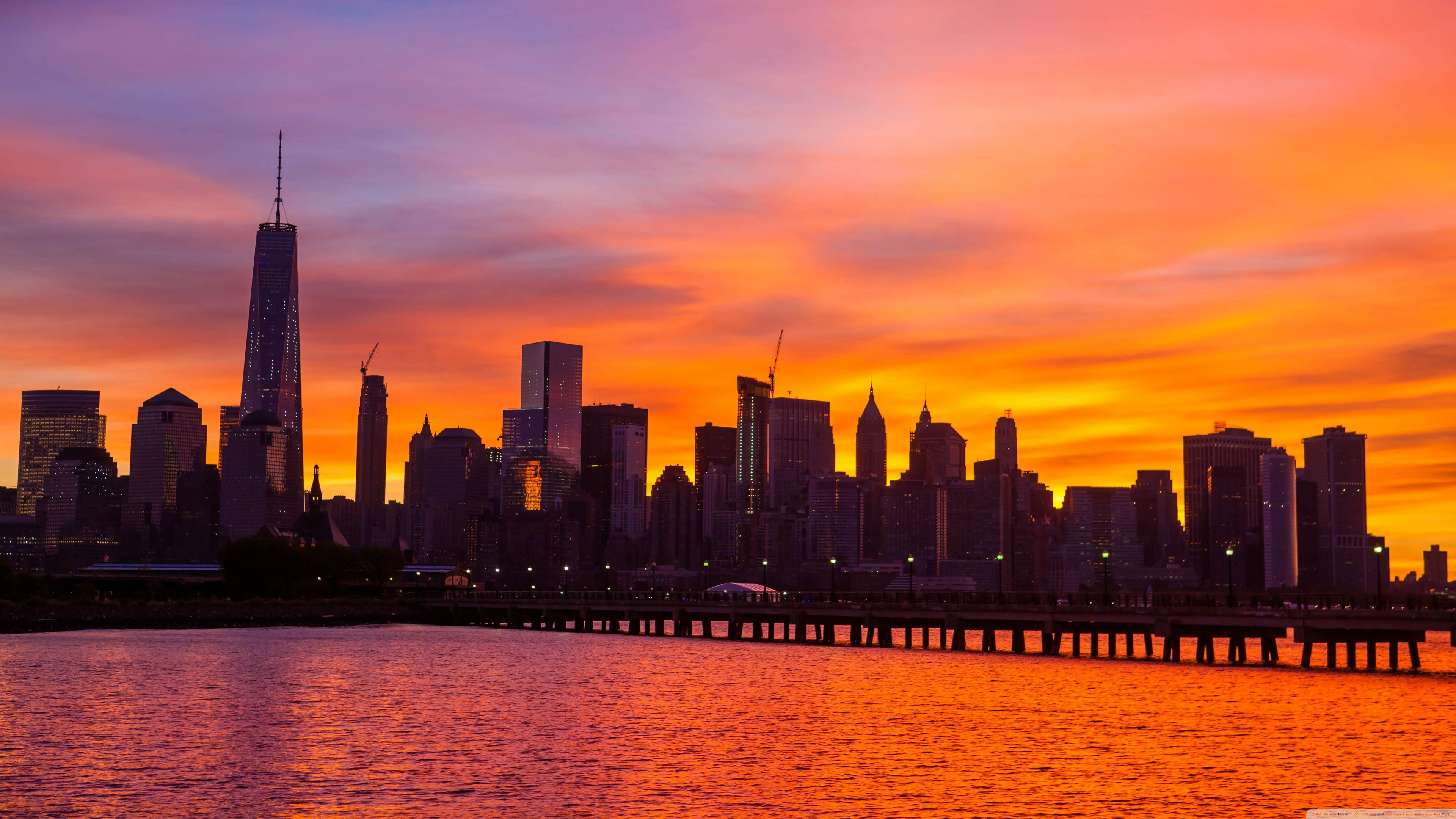 Sunrise desktop wallpapers top free sunrise desktop - New york skyline computer wallpaper ...