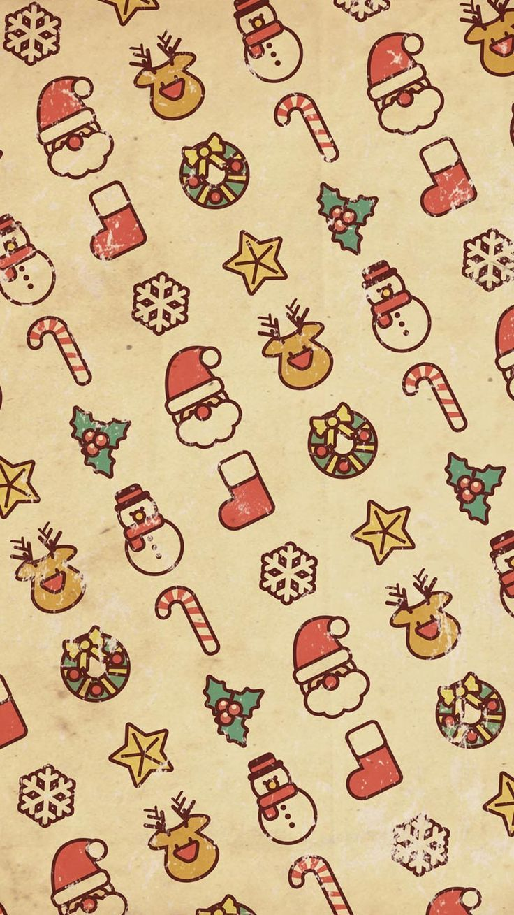 Christmas Background Tumblr.Cute Christmas Pattern Wallpapers Top Free Cute Christmas