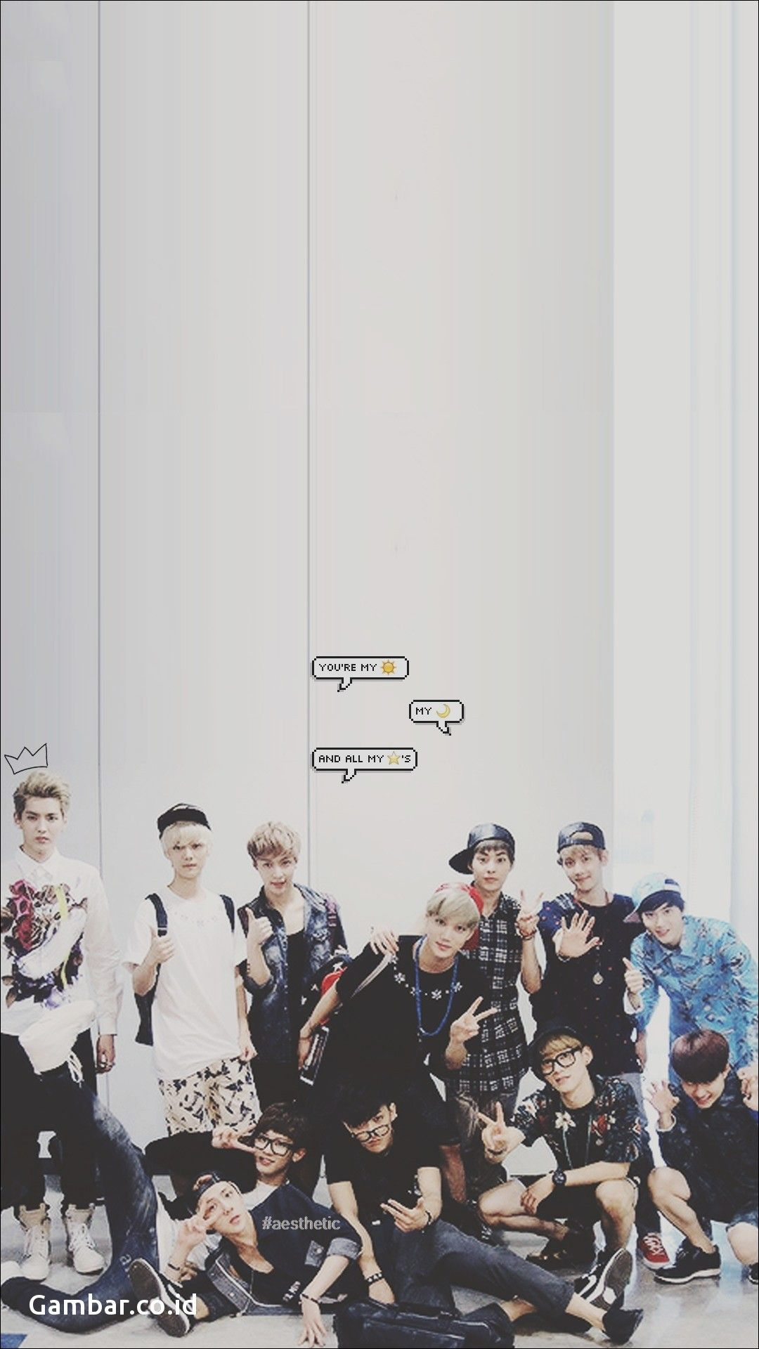 Exo Aesthetic Wallpapers Top Free Exo Aesthetic Backgrounds Wallpaperaccess