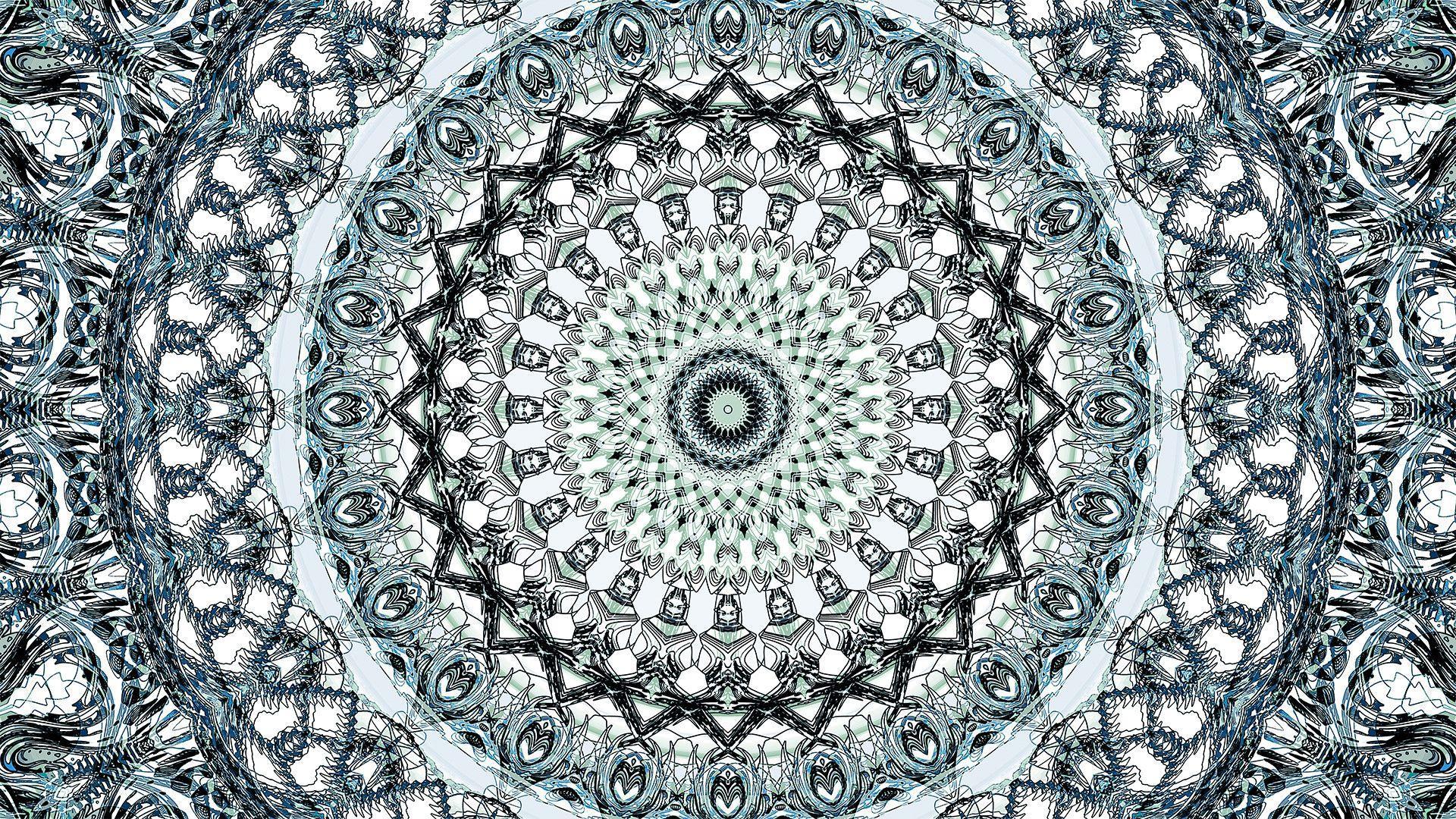 Hình nền máy tính Mandala 1920x1080