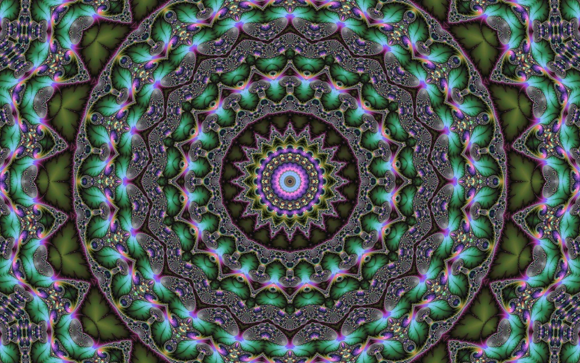1920x1200 Tải xuống hình nền 1920x1200 mandala, kính vạn hoa, Fractal