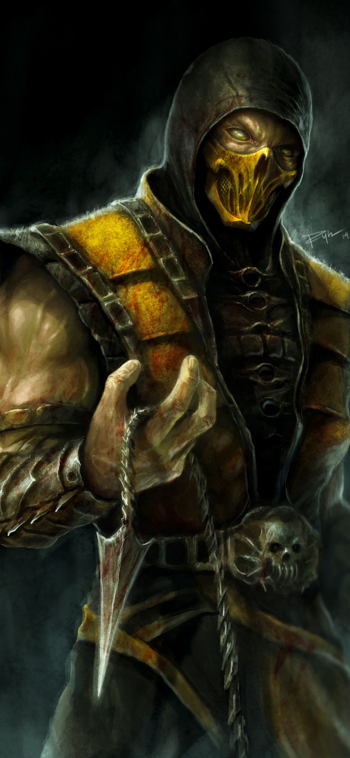 Mortal Kombat Iphone Wallpapers Top Free Mortal Kombat Iphone