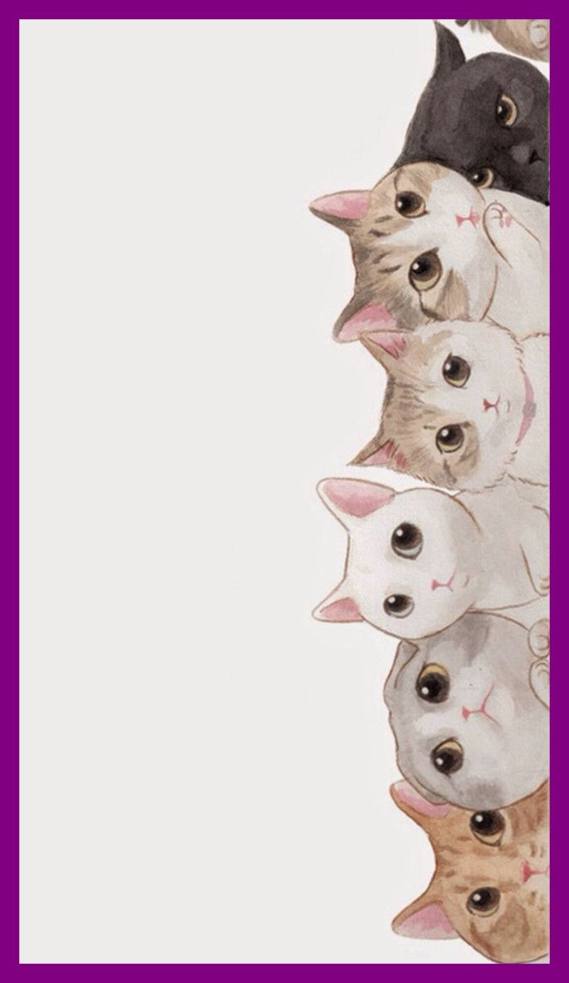 Cartoon Cat Wallpapers Top Free Cartoon Cat Backgrounds Wallpaperaccess