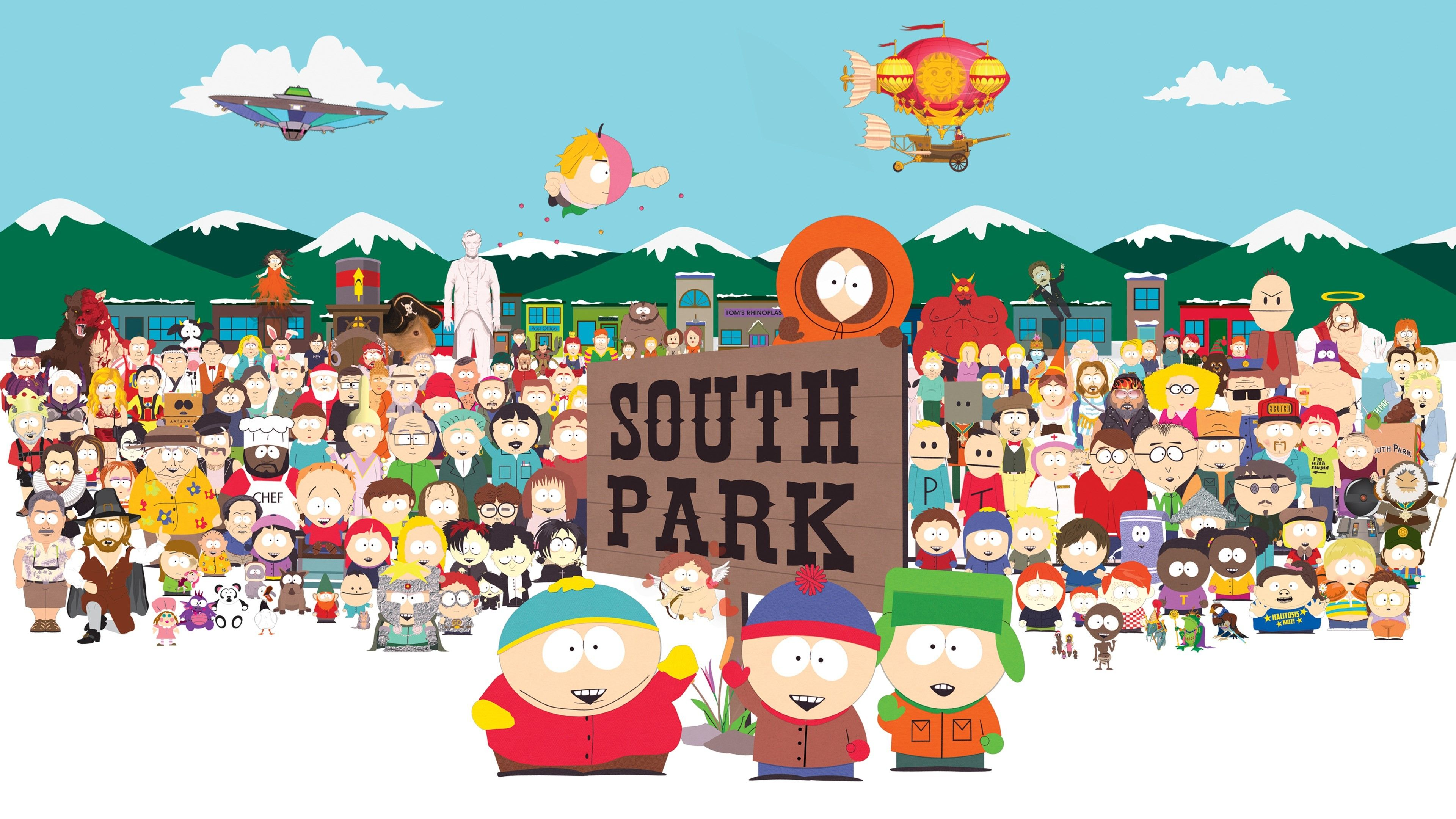 South Park Wallpapers Top Free South Park Backgrounds Wallpaperaccess