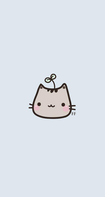 Cute Cartoon Cat Wallpapers Top Free Cute Cartoon Cat Backgrounds Wallpaperaccess