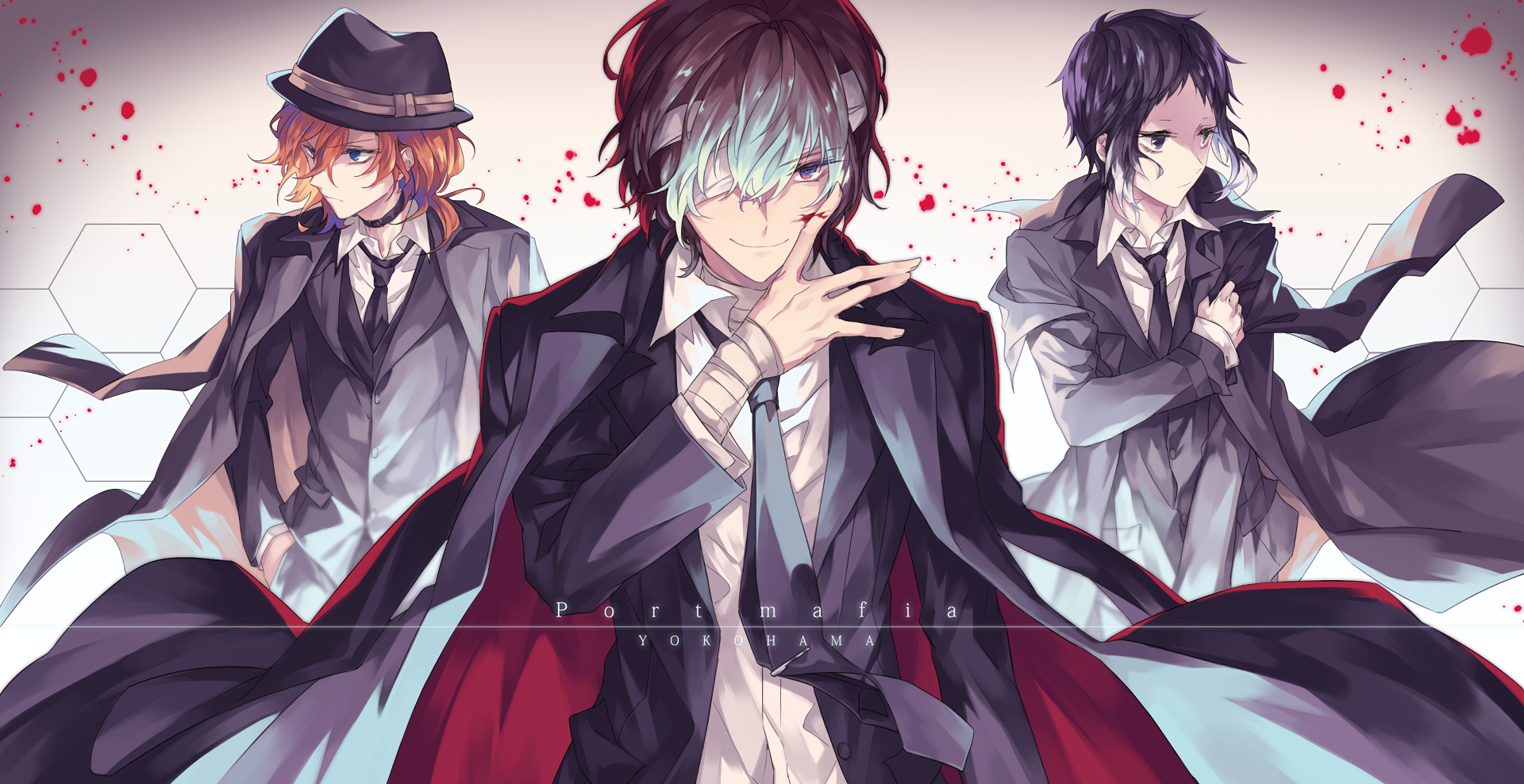 Bungou Stray Dogs Wallpapers Top Free Bungou Stray Dogs Backgrounds Wallpaperaccess