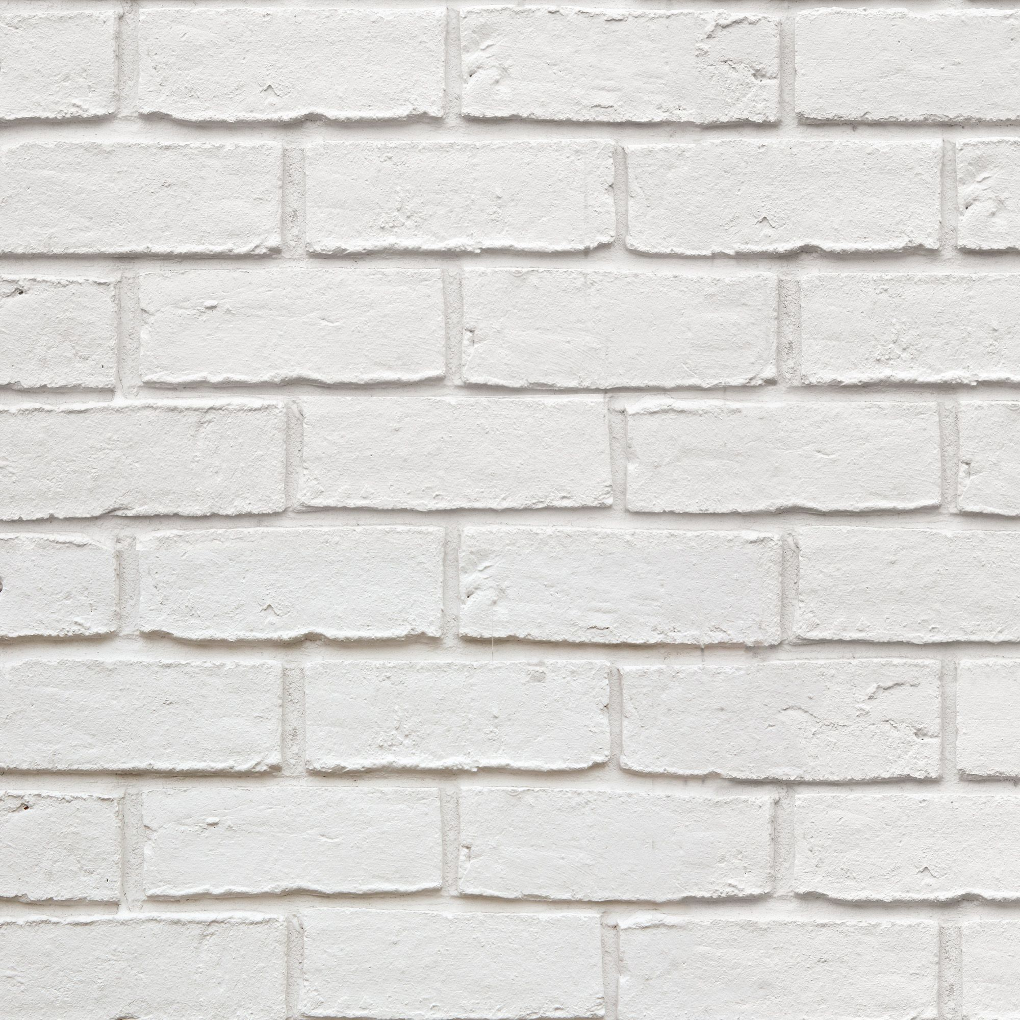 White Brick Effect Wallpaper