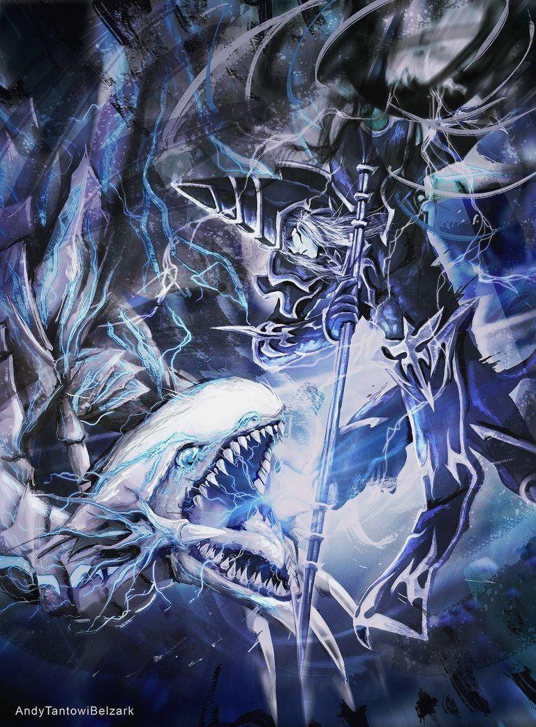 Blue Eyes White Dragon Wallpapers Top Free Blue Eyes White