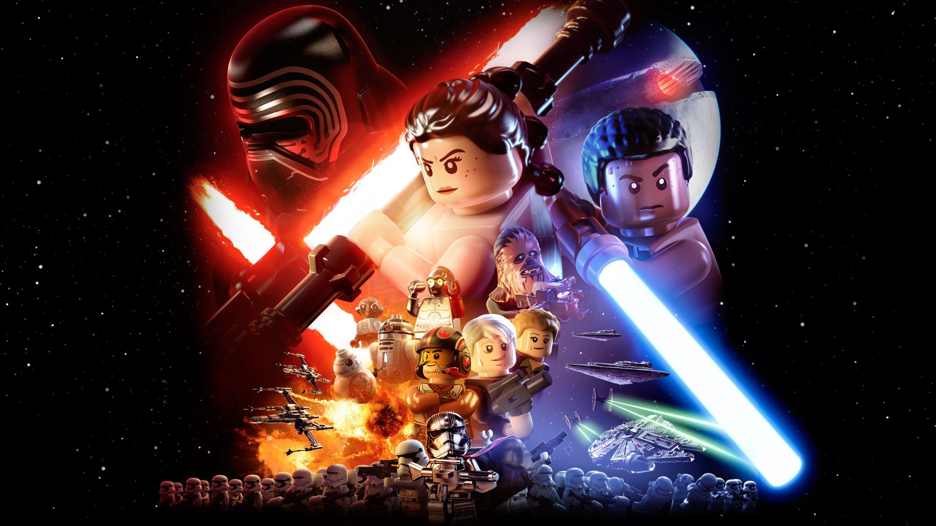 Lego Star Wars Wallpapers Top Free Lego Star Wars Backgrounds Wallpaperaccess