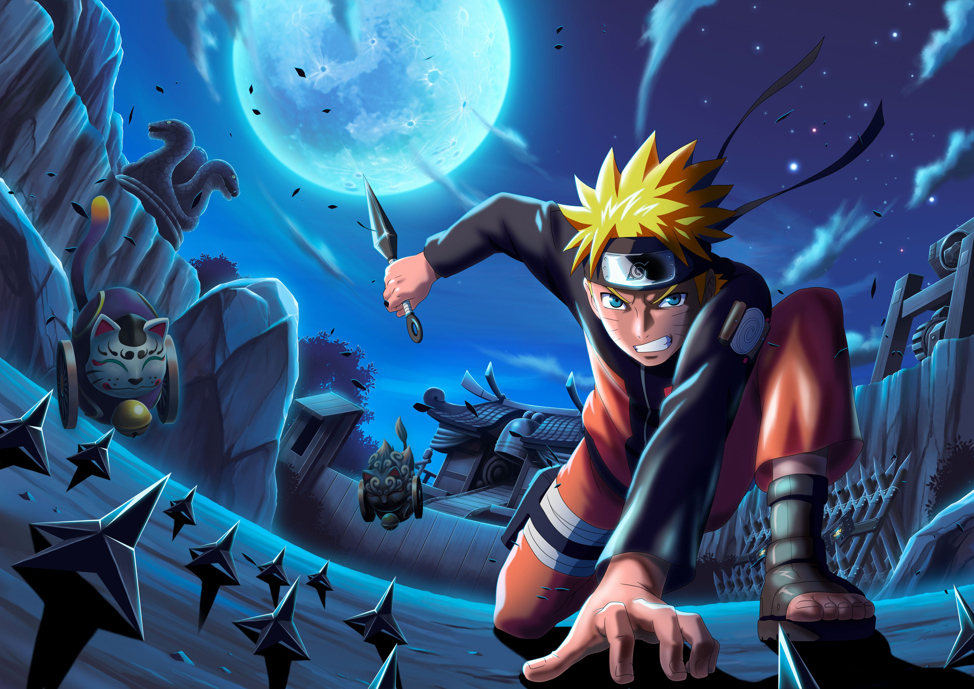Naruto Blue Wallpapers Top Free Naruto Blue Backgrounds Wallpaperaccess