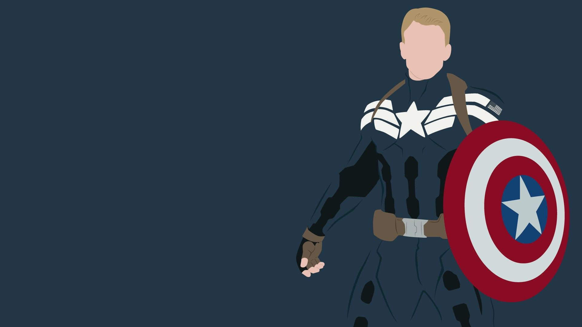 Minimalist Captain America Wallpapers Top Free Minimalist Captain America Backgrounds Wallpaperaccess